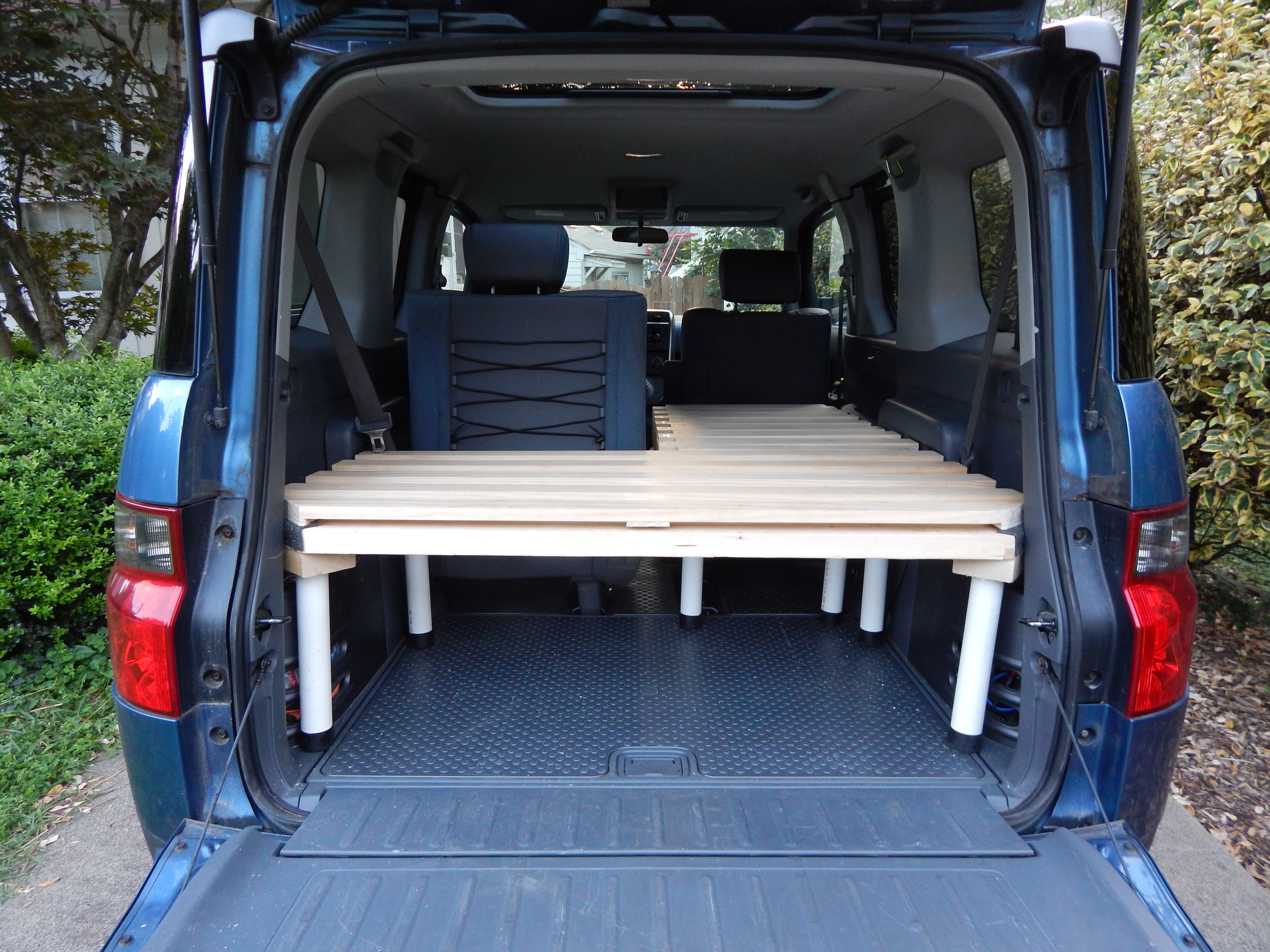 A Honda Element Camping Platform | Corrales Chiropractic